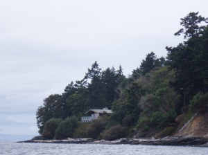Home to whale research scientist in one of the best places to see Orcas - sadly not today though.
